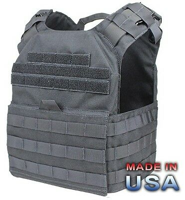 US Cyclone Lightweight MOLLE Plate Carrier Police Plattenträger Weste Vest black