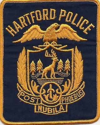 Hartford  Police Patch
