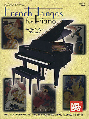 French Tangos for Piano Sheet Music Book
