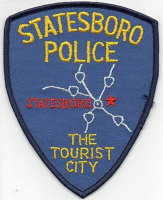 Statesboro Police Patch