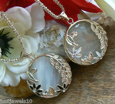 Unusual Moonstone Opal Necklace Mom mum Gifts for her Valentines day Wife Friend