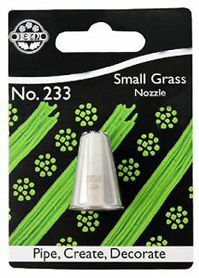 JEM 233 small grass / hair  nozzle  /cake decorating tip