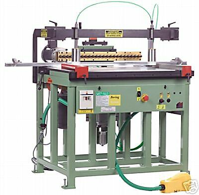 Conquest 23 Vert & Horiz Dowel Construction Drill 2hp (Made in US)