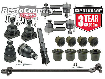 KIT 1. Front End HQ HJ HX Tie rod Ball joint Drag link Idler Control arm Bush