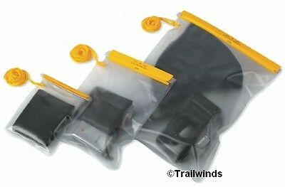 Waterproof PVC Pouch, Velcro Fastening - Safety For Phone Camera Map Valuables