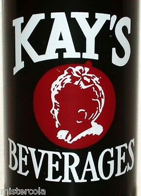 Vintage soda pop bottle KAYS BEVERAGES 1949 baby picture Victoria Texas RARE one