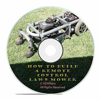 Guide How To Build A Radio RC Control Lawn Mower, Every Topic Covered, DIY!
