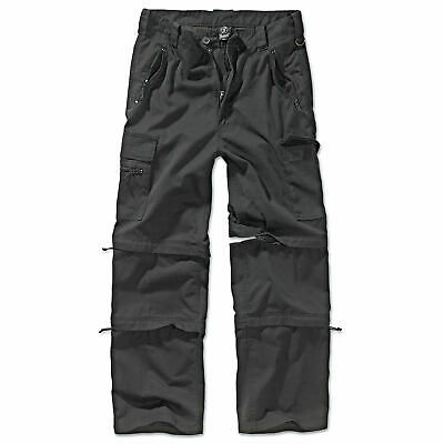 Brandit Savannah Outdoor Trekking Hose schwarz S-3XL Zip Off Cargo 3in1 Trousers