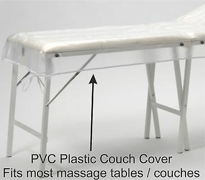 PVC Plastic Couch Cover For Massage Tables, Beds, Beauty, Waxing Protection etc