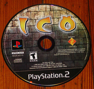 Ico Playstation 2 (Shadow of the Colossus prequel) PS2 classic adventure puzzle