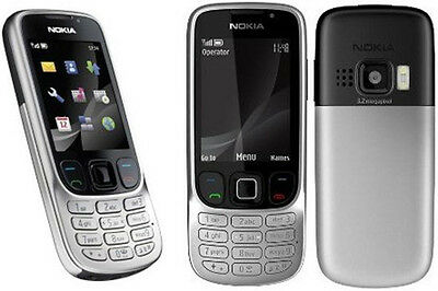 Nokia 6303i Phone 3MP Slim FM Bluetooth GSM TriBand Unlocked Black Silver