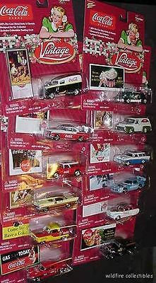 WHOLESALE LOT BOX OF VINTAGE COKE COCA COLA DIECAST CAR chevy ford jeep dodge