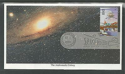 # 3238-3242 SPACE DISCOVERY, SCIENCE, STARS 1998 Mystic First Day Covers