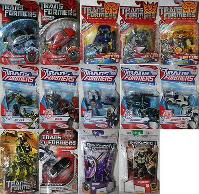 TRANSFORMERS-deluxe-Hasbro AUSSUCHEN: Animated, Robot Replicas,...