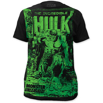 The Incredible Hulk Marvel Comic 105 Vintage Cover Monster Unleashed T-shirt top