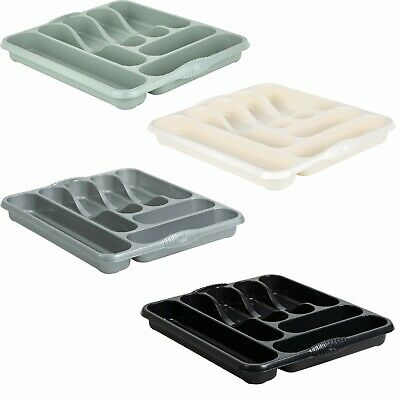 High Grade Wham 7 Compartment Plastic Cutlery Holder Storage Tray