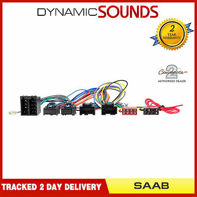 CT10SA02 Parrot SOT T-Harness Adaptor ISO Wiring Lead For SAAB 9-3 (2006>)