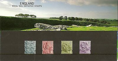 GB - England 2001 Machin Definitive Stamps - Presentation Pack No.54