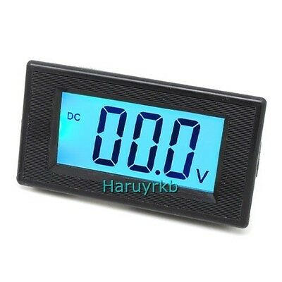 3½ DC 0-20V Blue LCD Digital Volt Panel Meter Voltmeter 19.99V power supply 12V