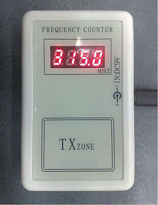 frequency indicator detector cymometer meter counter wavemeter test 250-450MHZ
