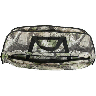 Deluxe Camo Bow Bag For Compound Bow Archery And Hunting