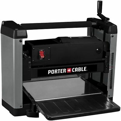 "Porter-Cable PC305TP 12-1/2"" 15 Amp Double Edged Quick Change Benchtop Planer"