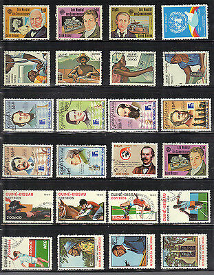Africa GUINE-BISSAU STAMP Collection  REF:PA226