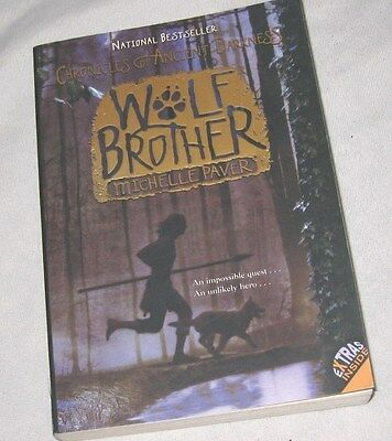 Book - Wolf Brother by Michelle Paver (2006, Paperback)