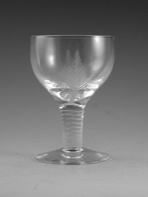 "STUART Crystal - WOODCHESTER Cut - Port Wine Glass / Glasses - 3 5/8"" (1st)"