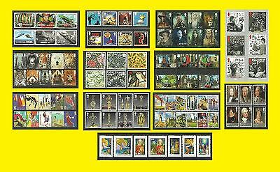 2011 All Commemorative Issues of Great Britain each Sold Separately Mint nh