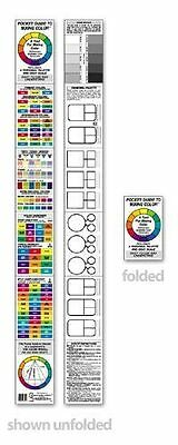 The Color Wheel Company Pocket Guide to Mixing Color 3452