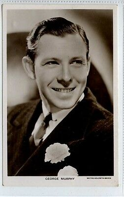 (Lo437-376) Real Photo of Actor George Murphy, c1930,  Picturegoer 1011a
