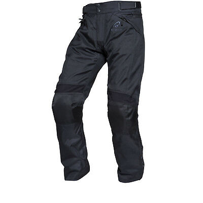 Black Venture Waterproof Motorcycle Motorbike Commuter Over Trousers Ghostbikes