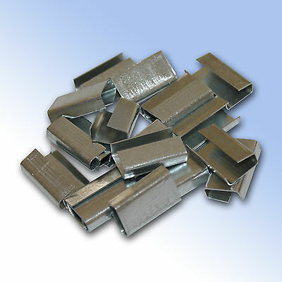 Metal semi-open Strapping Seals for strapping - Various Sizes and Quantities