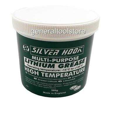 Lithium  Multi Purpose Grease - High Temperature 500G Tub Made In England Bc19