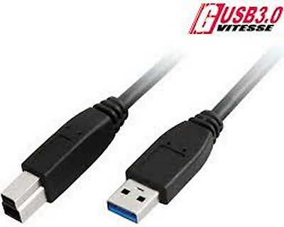 ADVANCE .. CABLE HQ USB3.0 .. USB 3.0 .. 2m .. Male A / Male B  * NEUF
