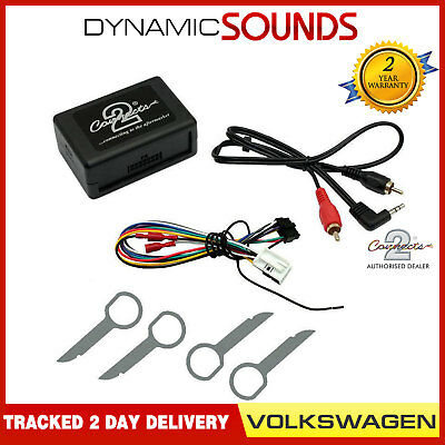 Car Aux In iPod iPhone Interface Adaptor For CTVVGX004 VW EOS 2006> With Keys