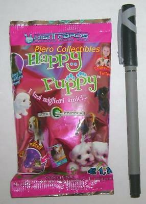Happy Puppy 3D Figure Bustina Digicards Gedis