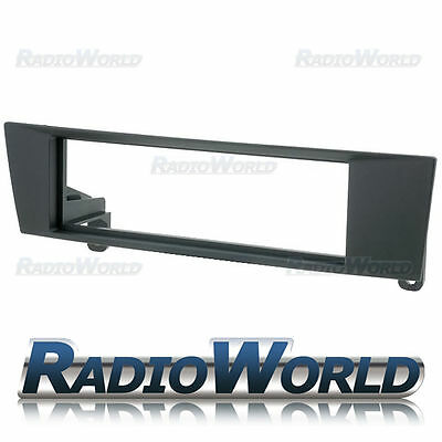 BMW 1 & 3 Series & X1 and Z4 Black Fascia Panel Adapter Single DIN