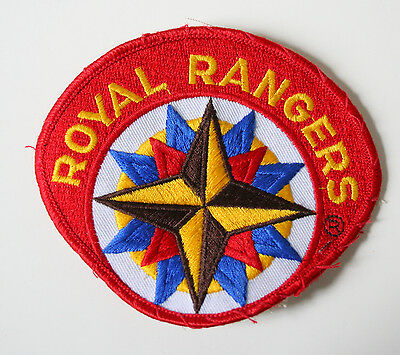 ROYAL RANGERS Color UV Large Embroidered Military Patch
