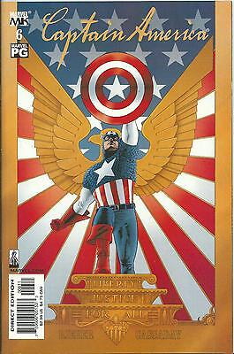Captain America #6 (4Th Series) (Marvel Knights)  2002