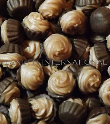 100 Dollhouse Miniature Chocolate Cream Cupcakes *Doll Mini Food Cakes Wholesale