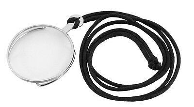 Steampunk Victorian Clear Costume Monocle Eyepiece with Silver Rim Elope New