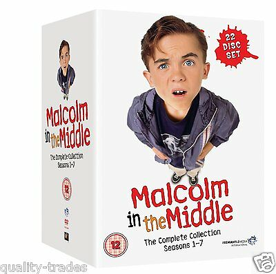 ❏ Malcolm In The Middle Series 1 - 7 DVD Complete Collection Seasons ❏ 2 3 4 5