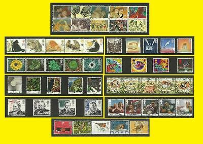 1995 All Commemorative Issues of Great Britain each Sold Separately Mint nh