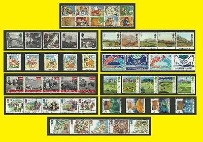 1994 All Commemorative Issues of Great Britain each Sold Separately Mint nh