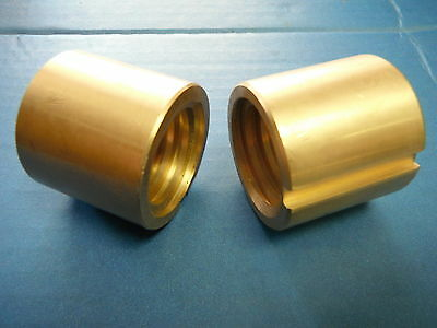 Bridgeport Mill Part, J Head Milling Machine Cross Feed Nut 2 Pc 2060631 M1070-2