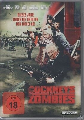 Cockneys vs Zombies  DVD NEU FSK 18