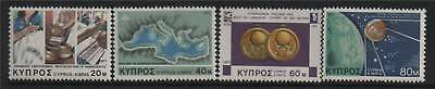 Cyprus 1977 Anniversaries and Events SG 493/6 MNH