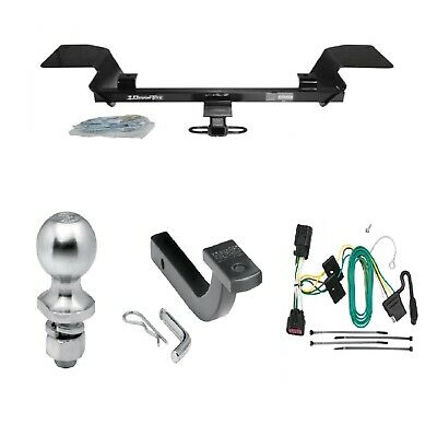 """Class 2 Trailer Hitch Receiver Tow Kit w/ Wiring & 1-7/8"""" Ball for Chevy Impala"""